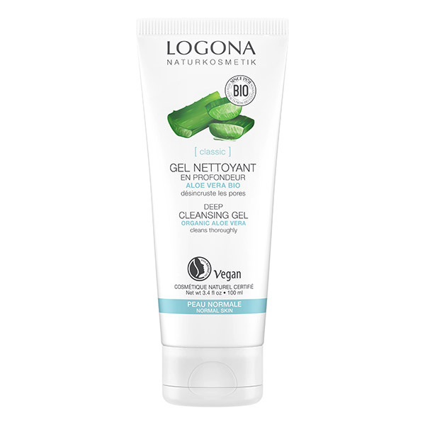 Logona - Gel nettoyant à l'Aloe Vera Bio - 100ml