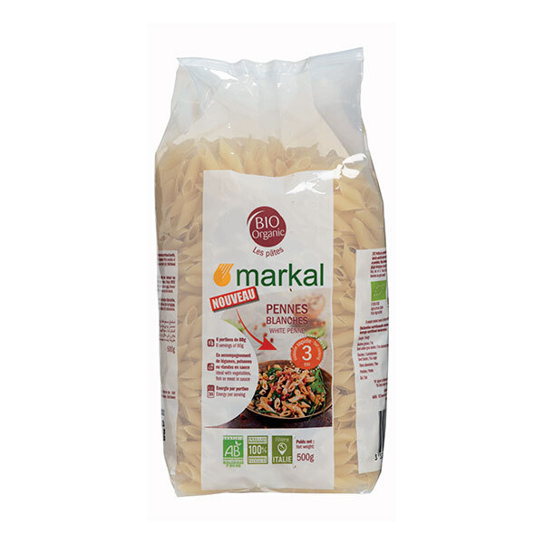Markal - Penne blanches cuisson rapide 500g