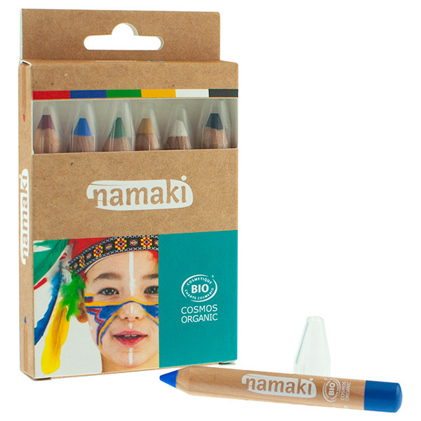 Namaki - Kit 6 crayons de maquillage - dès 3 ans