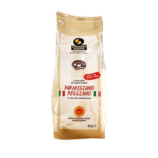 Öma - Parmesan Reggiano rapé au lait cru 80g