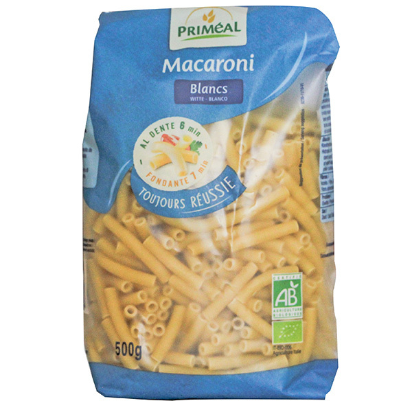 Priméal - Macaroni blancs 500g