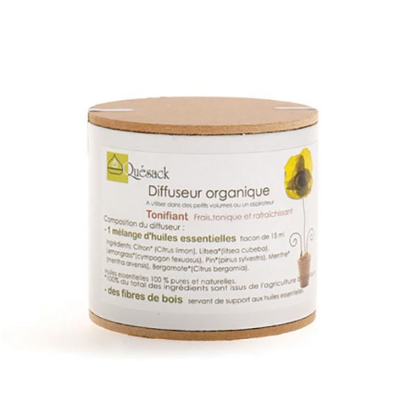 Quésack - Diffuseur organique Tonifiant