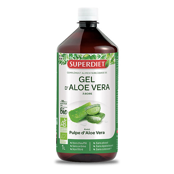 SUPERDIET - Gel d'Aloe Vera Bio 1L