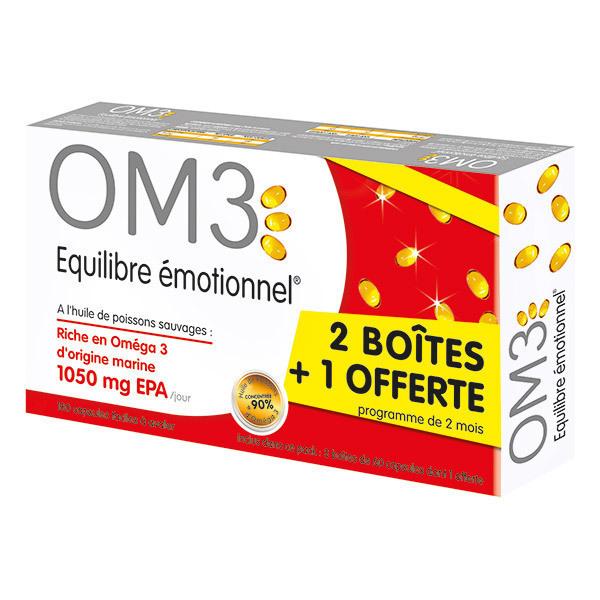 OM3 - Équilibre Émotionnel 2 boites achetées = 1 offerte