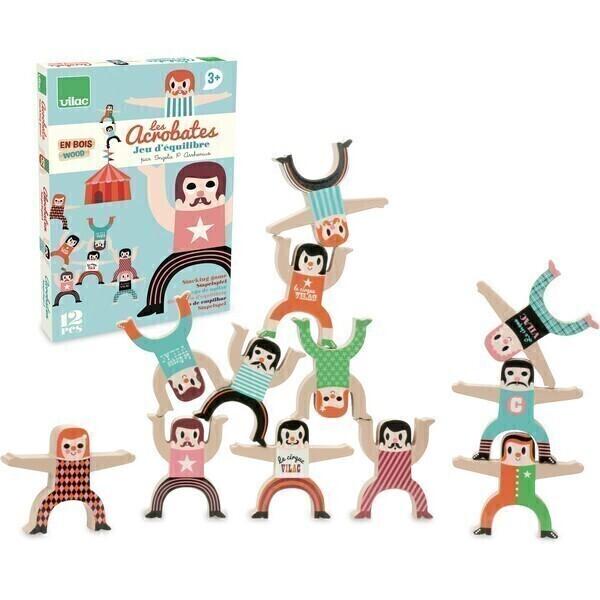 Vilac - Les acrobates équilibristes Ingela P. Arrhenius - Dès 3 ans