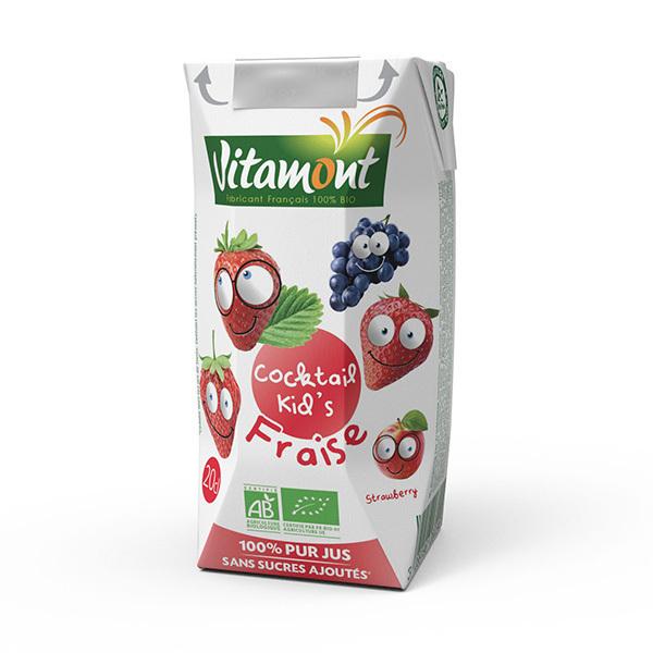 Vitamont - Cocktail Kid's fraise 20cl