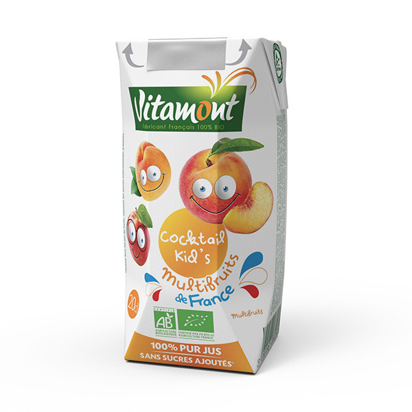 Vitamont - Cocktail Kid's multifruits 20cl