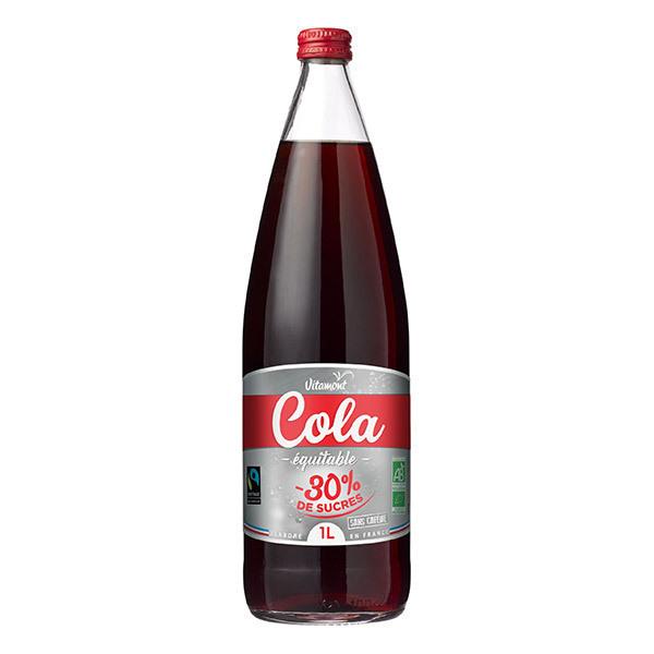 Vitamont - Cola 30% de sucre en moins 1L