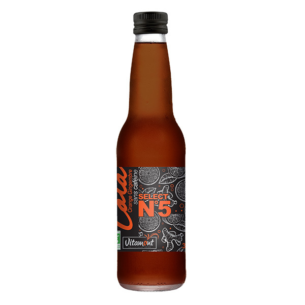 Vitamont - Cola orange gingembre 33cl
