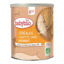 Babybio - Céréales Carotte Maïs dès 6 mois 220g