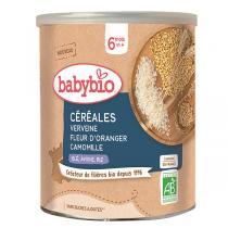 Babybio - Céréales Verveine Fleur d'Oranger Camomille dès 6 mois 220g