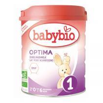 Babybio - Optima 1 lait pour nourrissons 800g - De 0 à 6 mois