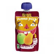 Bioshok - Gourde Fruit Pomme Poire 100g