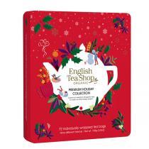 English Tea Shop - Coffret métal Holiday 6 thés & 3 infusions 72 sachets