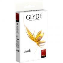 Glyde - Boîte de 10 préservatifs vegan Slimfit