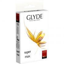Glyde - Boîte de 10 préservatifs vegan SuperMAX