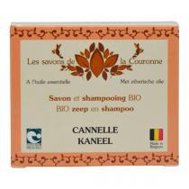 Les Savons de la Couronne - Savon & shampoing Cannelle 100g