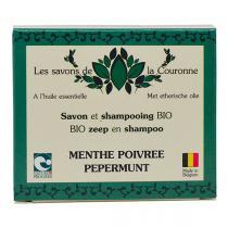 Les Savons de la Couronne - Savon & shampoing Menthe Poivrée 100g