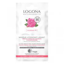 Logona - Masque Lissant Rose de Damas Bio - 2x7,5ml