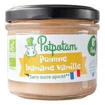 Potpotam - Pomme banane vanille 100g