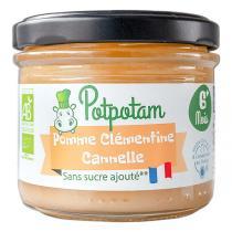 Potpotam - Pomme clémentine cannelle 100g