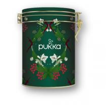 Pukka - Boite métal mélange infusions épicées de Noël 30 sachets