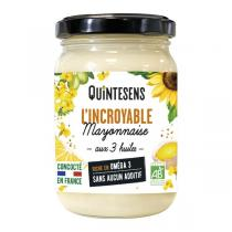 Quintesens - L'Incroyable Mayonnaise aux 3 huiles 180g