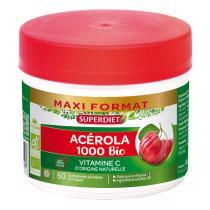 SUPERDIET - Acérola 1000 bio 60 comprimés à croquer