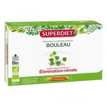 SUPERDIET - Bouleau élimination rénale 20x15ml