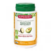 SUPERDIET - Radis noir et artichaut bien-être du foie 90 gélules