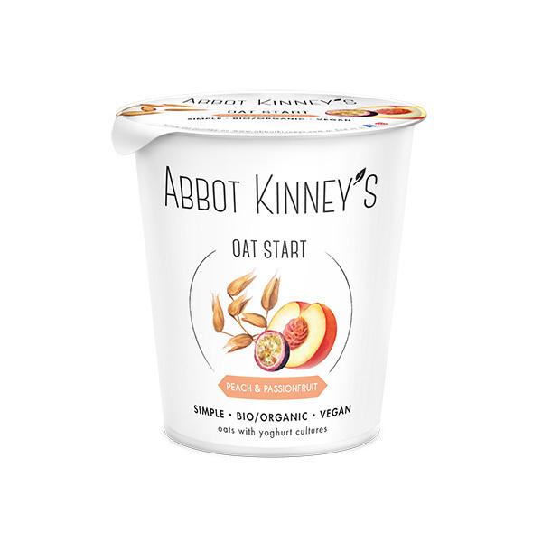 Abbot Kinney's - Dessert végétal Avoine Pêche-Passion 400ml