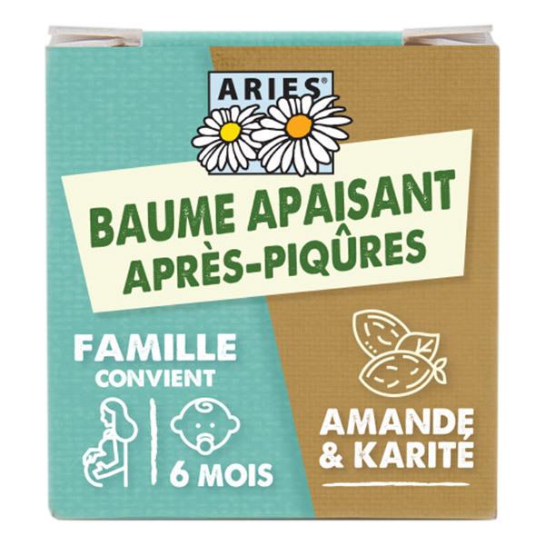 Aries - Baume après-piqûres moustiques famille - 10ml