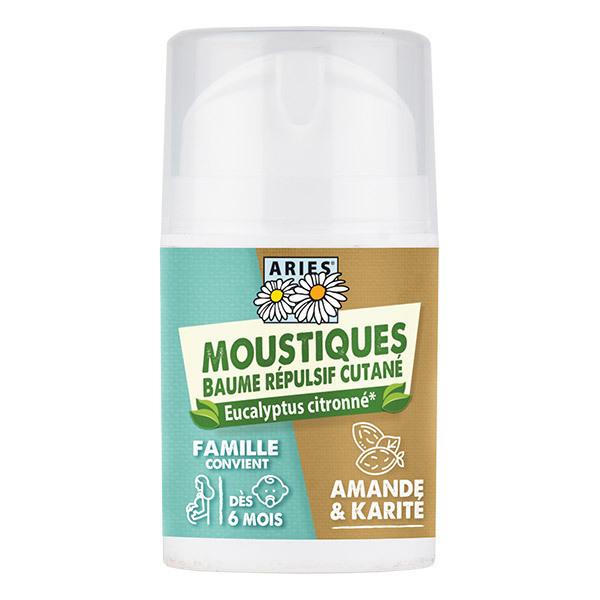 Aries - Baume répulsif moustiques cutané famille - 50ml
