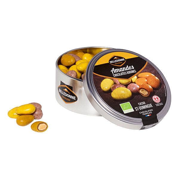 Belledonne - Amandes chocolatées aux agrumes 150g