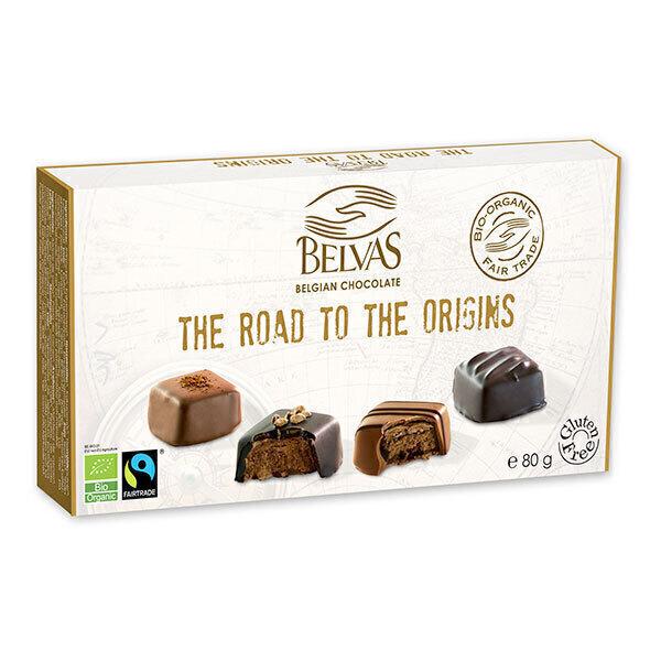 Belvas - Coffret de chocolats La route des origines 80g