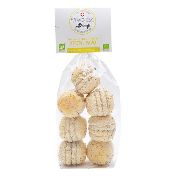 Biscuits Bio des Savoie - Macaron Citron Pavot 150g