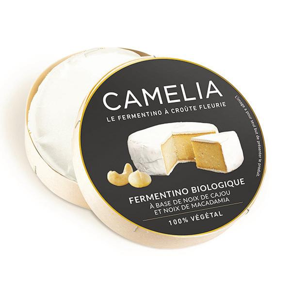Casa Del Fermentino - Camélia à croûte fleurie spécialité végatale 100g