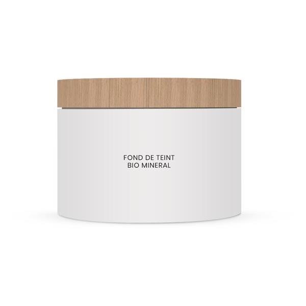Couleur Caramel - Fond de teint BIO MINERAL n°21-Beige clair