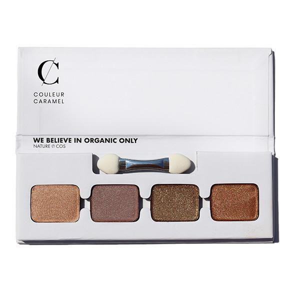 Couleur Caramel - Palette 4 ombres à paupières n°2 - L'éternel