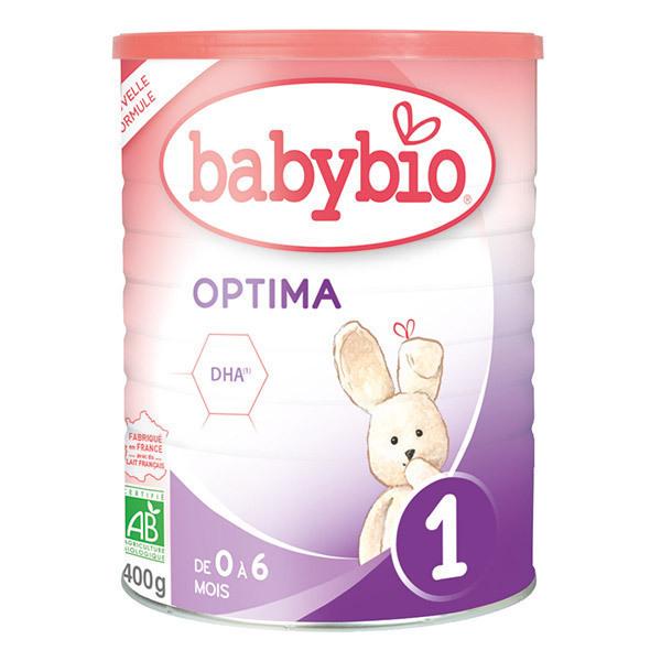 Babybio - Babybio Optima 1 de 0 à 6 mois 400g