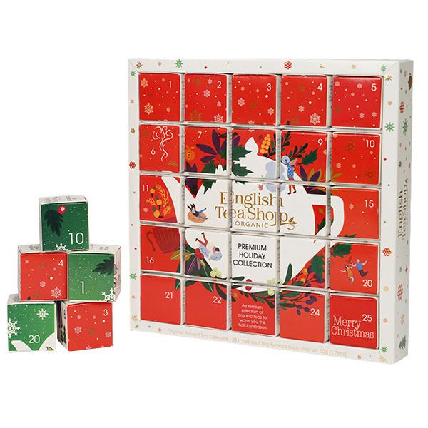 English Tea Shop - Calendrier de l'Avent Puzzle de thés et infusions 13 mélanges