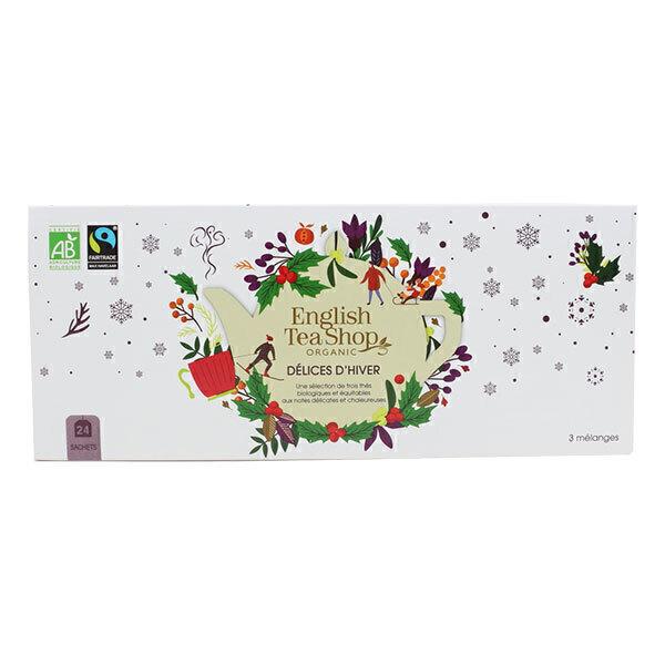 English Tea Shop - Coffret Délices d'Hiver 3 thés 24 sachets