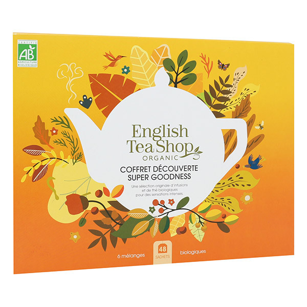 English Tea Shop - Coffret Super Goodness 5 infusions & 1 thé 48 sachets