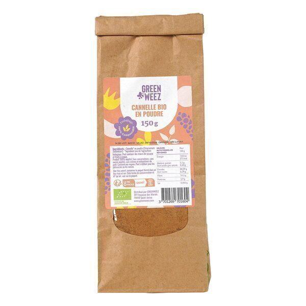 Greenweez - Cannelle en poudre Bio 150g