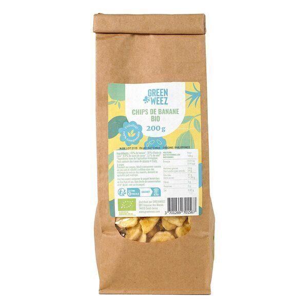 Greenweez - Chips de bananes Bio 200g