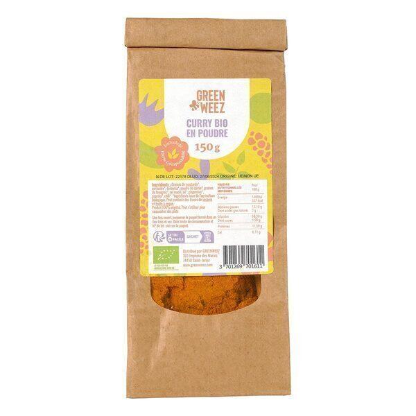 Greenweez - Curry en poudre Bio 150g