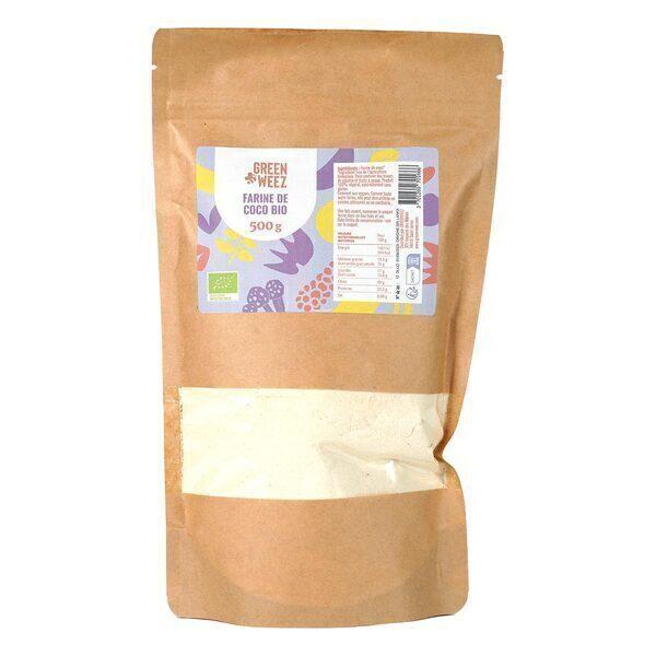 Greenweez - Farine de coco Bio 500g