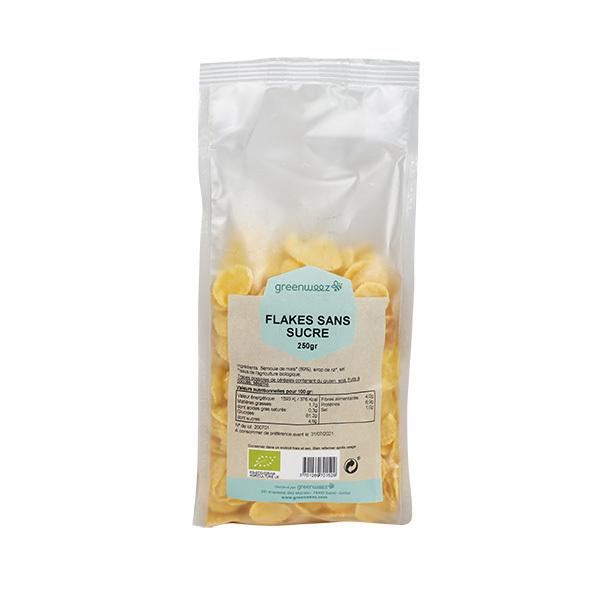 Greenweez - Flakes sans sucre bio 250g