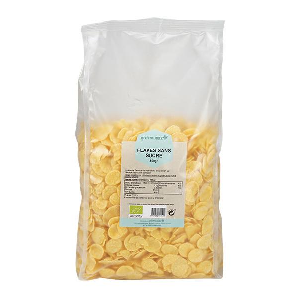 Greenweez - Flakes sans sucre bio 850g