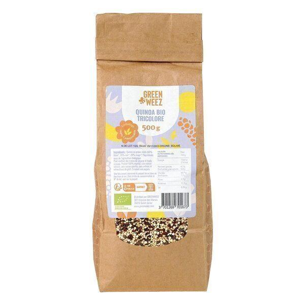 Greenweez - Quinoa tricolore Bio 500g